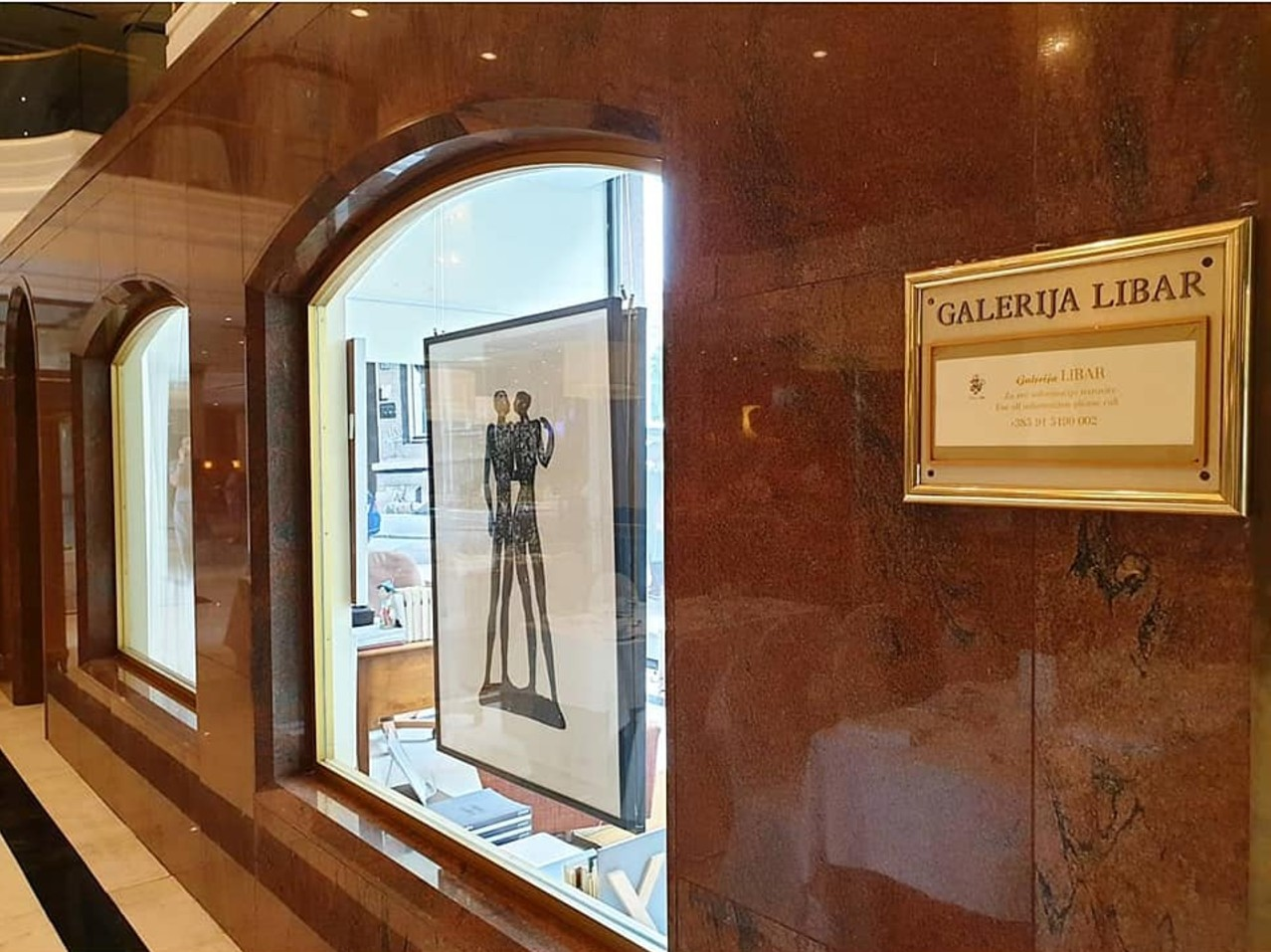 Cooperation with Galerija Libar