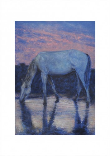 Horse on Watering Place II
